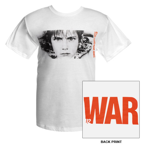 'WAR' Album Cover T-Shirt (White)