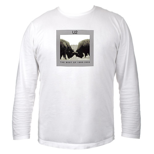 'U2 The Best of 1990-2000' Album Cover, Long Sleeve