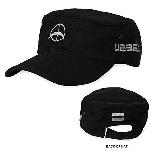 U2 360 Tour Logo Black Cap