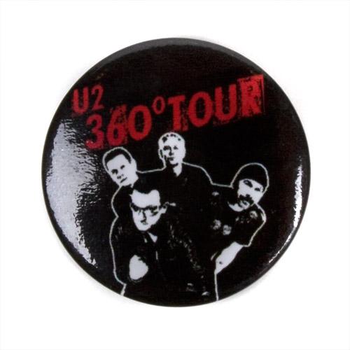 U2 Band Photo Button
