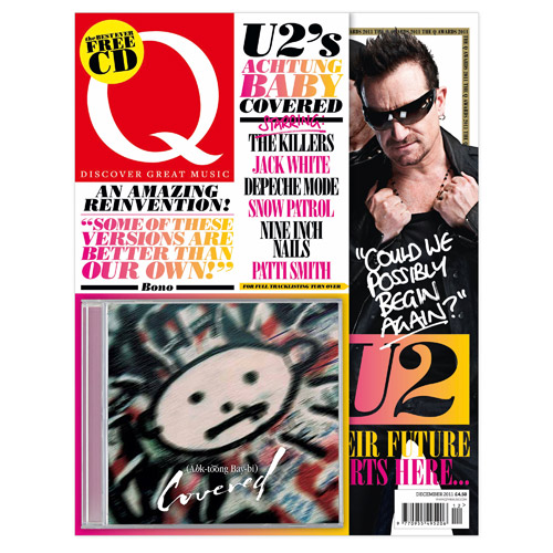 Pre-Order Q Magazine Inc  'AHK-toong BAY-bi Covered' CD*
