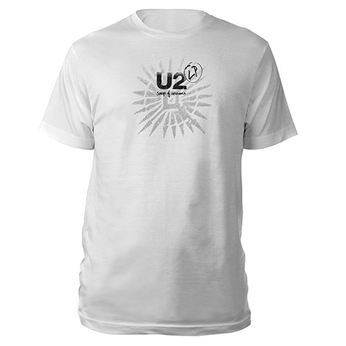 Song Of Innocence Tattoo/LP T-Shirt (White)
