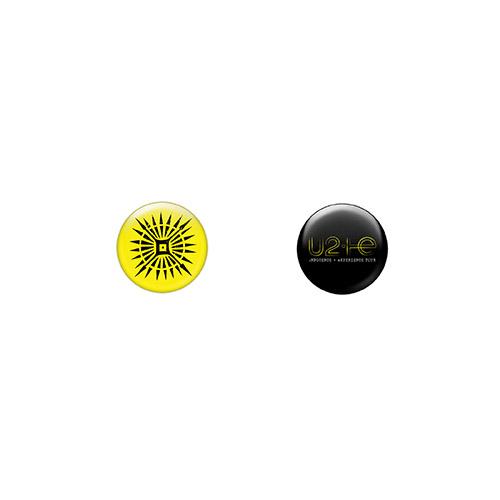 U2ie Tour Button Set