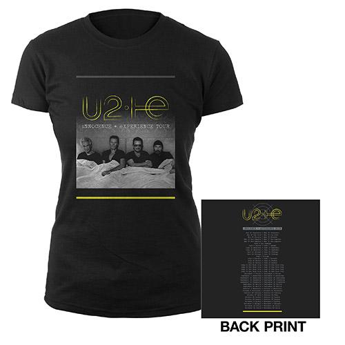 U2ie Tour Official Women's T-shirt