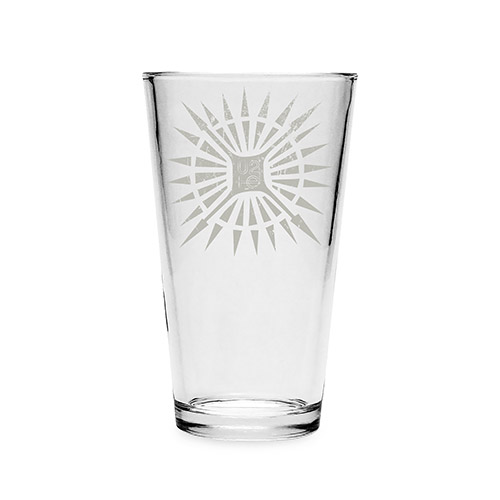 U2 Songs Of Innocence Tattoo Pint Glass