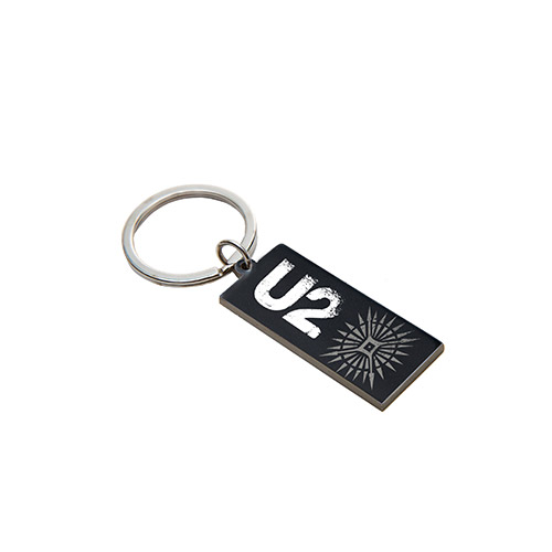 U2 Songs Of Innocence Leather Keyring