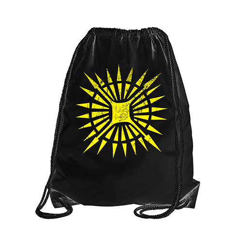 U2ie Tour Logo Drawstring Tote Bag