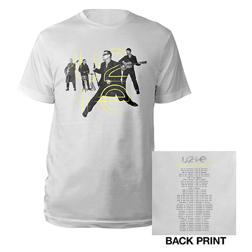 U2ie Tour Live Photo T-Shirt*