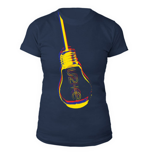 U2ie Hanging Lightbulb Women's T-Shirt