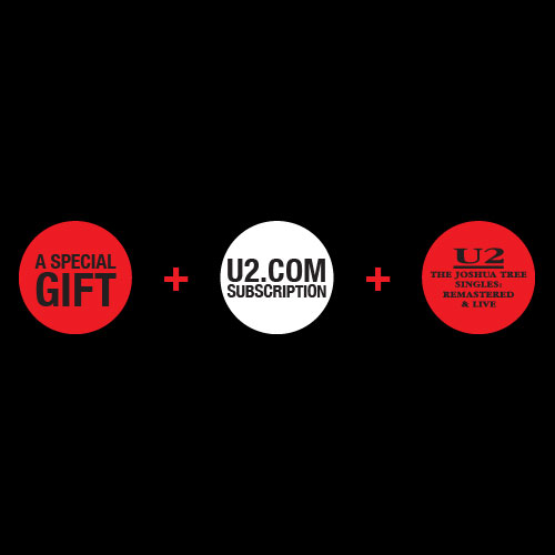 U2.Com Gift Subscription: U2com10 New Member Premium Subscriber Package: 2014/2015: Double Vinyl and North Side Story Book