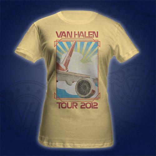 Van Halen Tour Babydoll