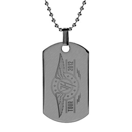 Van Halen 2012 Tour Logo Dog Tag