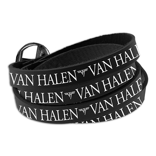 Van Halen Wrap Around Leather Bracelet