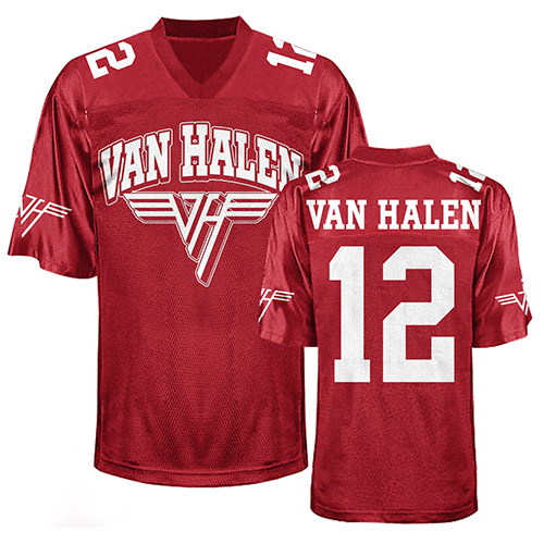 Van Halen Football Jersey