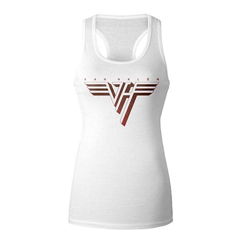 Van Halen Classic Logo Ladies Tank