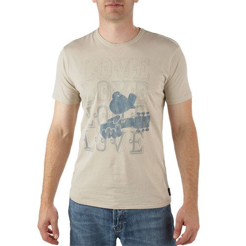 Woodstock Love Love Love Tee