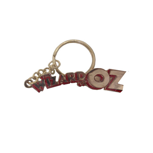 Wizard of Oz Logo Keyring