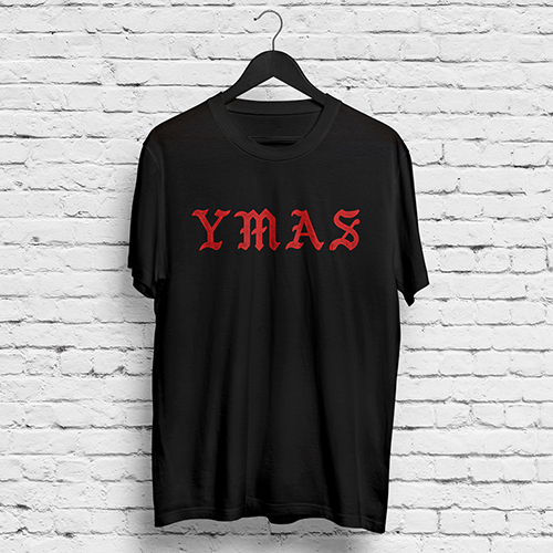 YMAS Logo/2016 Set Black T-shirt