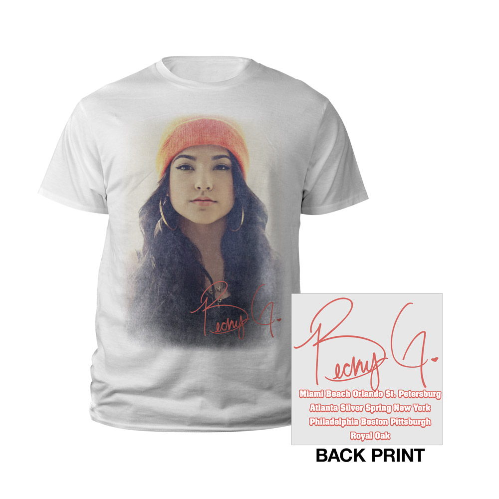 Becky G Becky From The Block Outfits Becky G Portrait Youth Tee