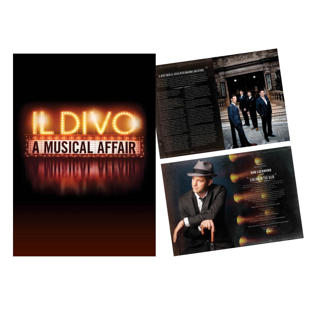 Il divo official store il divo a musical affair tour program - Il divo website ...