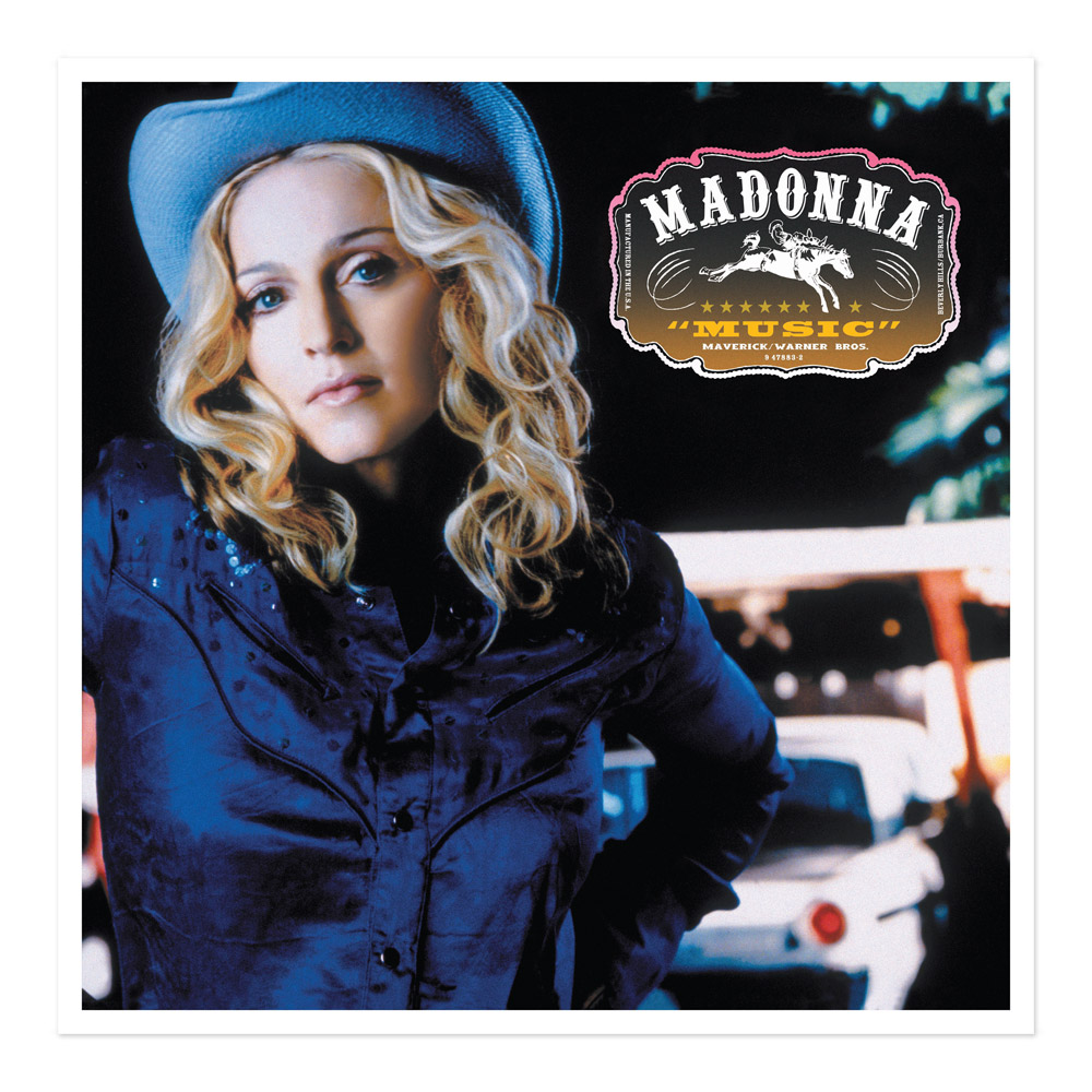 Madonna official store official music album cover lithograph