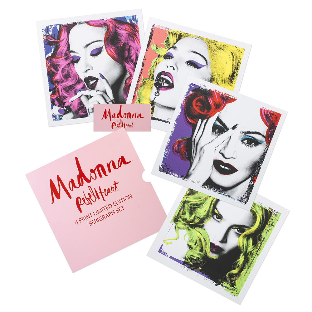 Rebel Pop HeART Collectible Serigraph Set