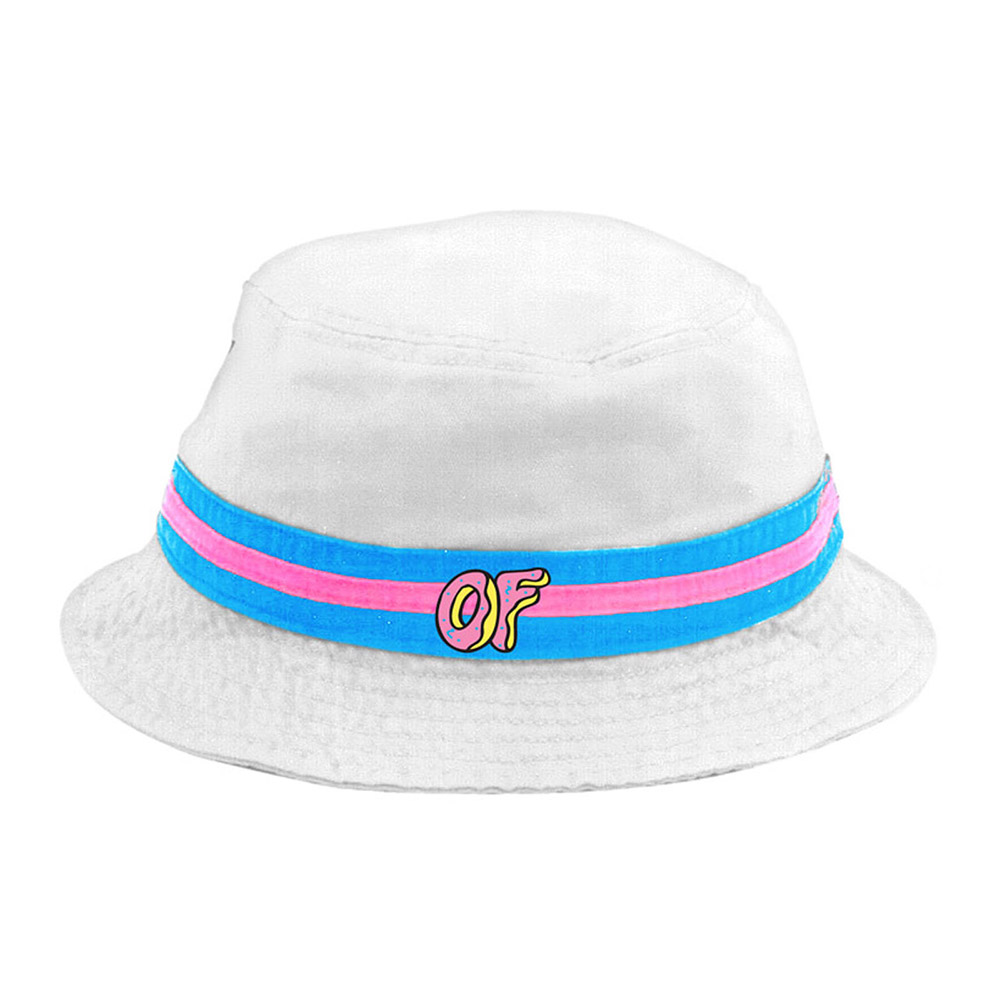 Bucket Hat Logo of Logo White Bucket Hat