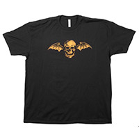 Orange Deathbat tee