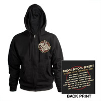 Bridge School Benefit Zip Hoodie