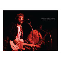 Exclusive Lithographic Print - Bruce & Clarence Live In Philadelphia 1973 (1-500)