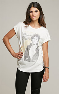 Bruce Springsteen Rolled Sleeve Tee