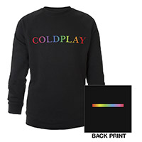 Coldplay Raglan Crew Neck Sweatshirt