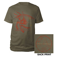 Chris Cornell Zodiac T-shirt