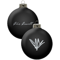 Chris Cornell Signature Ornament