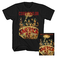 Corey Taylor Tee and Book Bundle