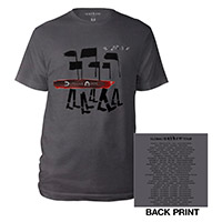 Album/US Dates Grey T-shirt