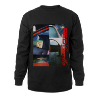 RED COROLLA MONTAGE LONG SLEEVE