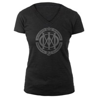 Women's Astonishing Heathered V-Neck Tee