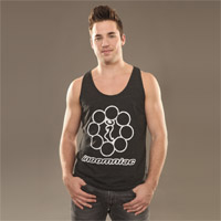 Insomniac Throwback Tank Charcoal Heather