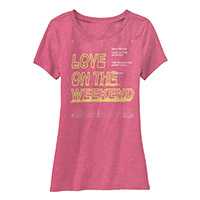 Love on the Weekend Ladies Tee
