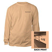 Jay-Z 4:44 Brooklyn Long Sleeve Tee*