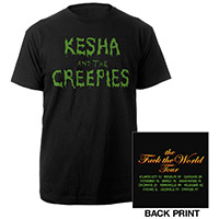 Kesha and the Creepies Tour Tee