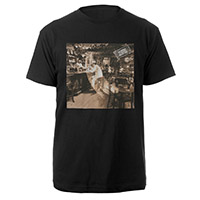 Led Zeppelin In Through The Out Door Album Black T-Shirt