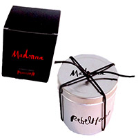 Madonna Holy Water Candle
