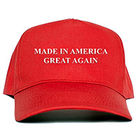 Made in America Great Again Red Hat