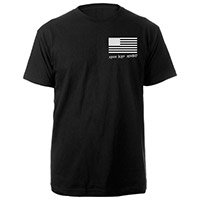 Made in America Free and Equal Black Tee