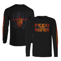 Feed The Machine Long Sleeve Tee