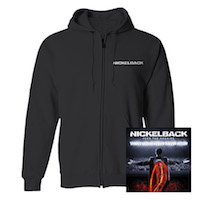 Feed The Machine Hoodie & CD Bundle