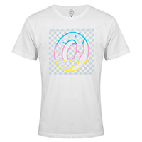 RAINBOW DONUT CHECKERED BOX TEE