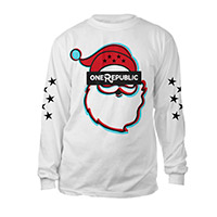 Pre-Order OneRepublic Long Sleeve Santa T-Shirt*